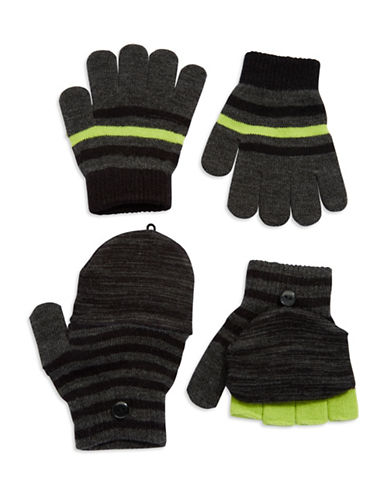 CAPELLI NEW YORKTwo Pack Knit Gloves