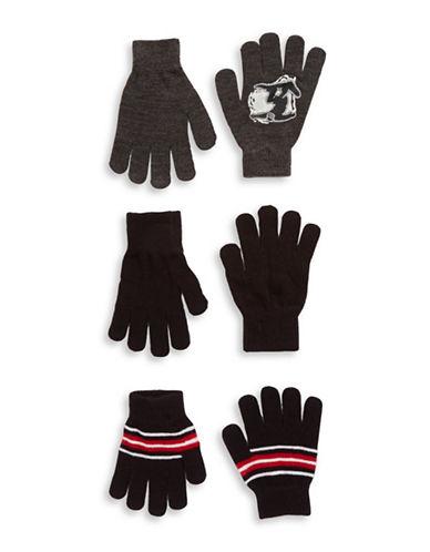 CAPELLI NEW YORKThree-Piece Knit Gloves