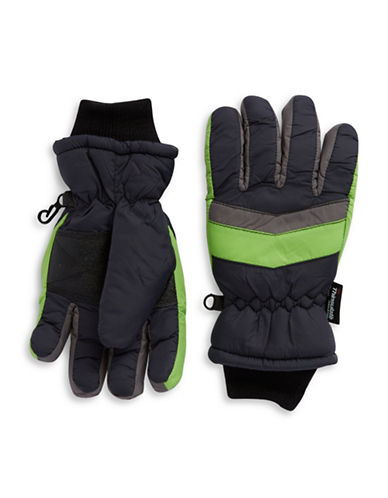 CAPELLI NEW YORKThinsulated Striped Gloves