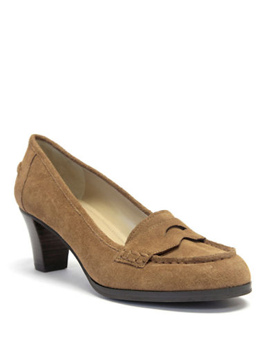 ELLEN TRACY Ricochet High-Heel Loafers