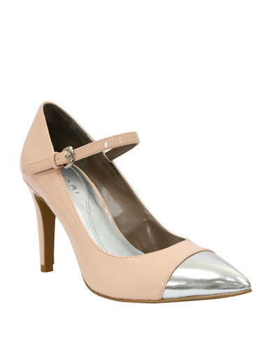 TAHARI Sabina Cap Toe Mary Jane Pumps