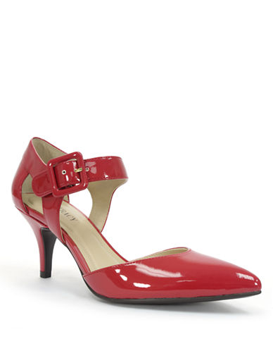 ELLEN TRACY Bardot Patent Leather Pumps