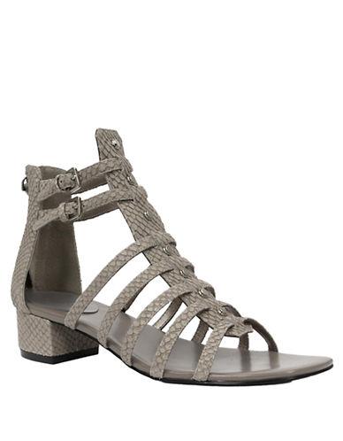 TAHARIGigi Embossed Strappy Sandals