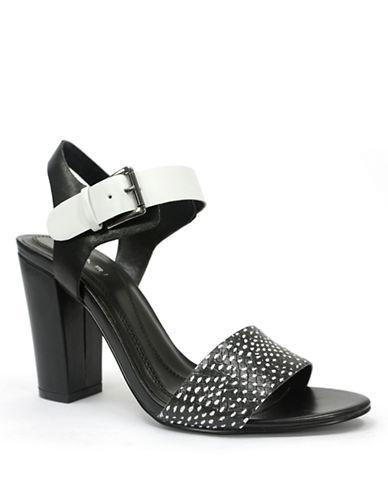 TAHARIMeg Leather Heeled Sandals