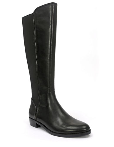 TAHARIRicky Leather Riding Boots