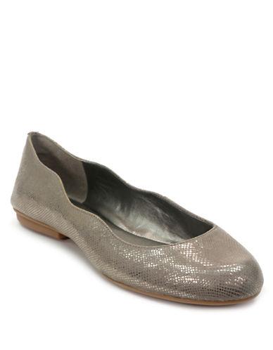 Tahari Venussia Embossed Leather Ballet Flats