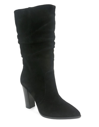 Buy Alanna Suede Slouchy Mid-Calf Boots by Tahari online