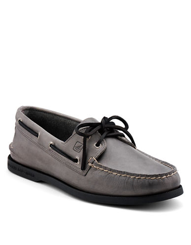 SPERRY TOP-SIDER AO 2-Eye Leather Boat Shoes