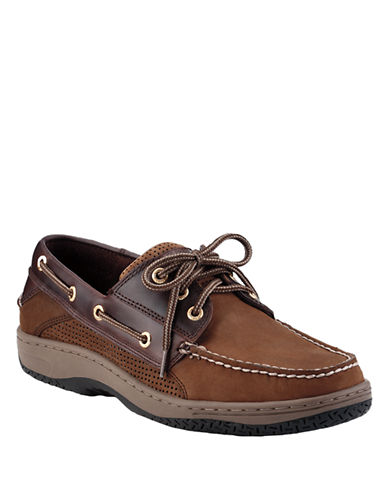 SPERRY TOP-SIDER Billfish Ultralite 3-Eye Leather Boat Shoes