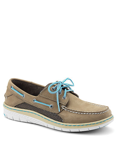 SPERRY TOP-SIDER Billfish Ultralite 3 Nubuck Leather Boat Shoes