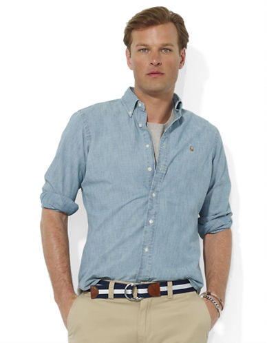 POLO RALPH LAUREN Chambray Sport Shirt