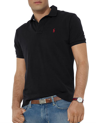 POLO RALPH LAURENClassic-Fit Cotton Mesh Polo