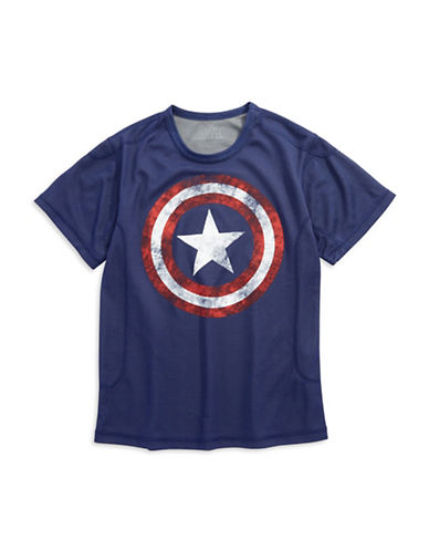 MAD ENGINE Boys 8-20 Captain America T Shirt