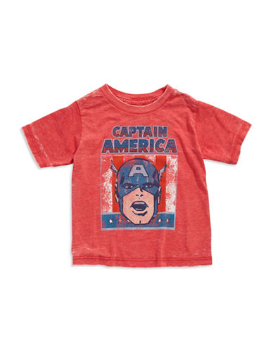MAD ENGINEBoys 2-7 Captain America T Shirt
