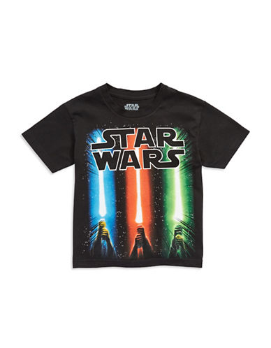 MAD ENGINEBoys 8-20 Glow In The Dark Light Saber T Shirt