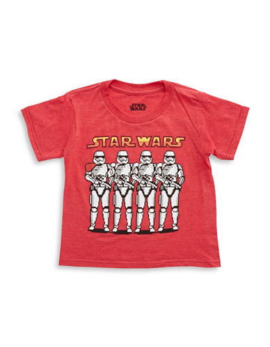 MAD ENGINE Boys 2-7 Pixeled Stormtrooper Tee