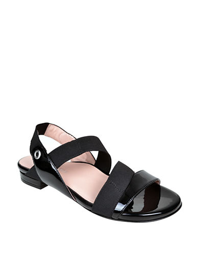 Shop Taryn Rose online and buy Taryn Rose Iyana Patent Leather Sandals shoes online