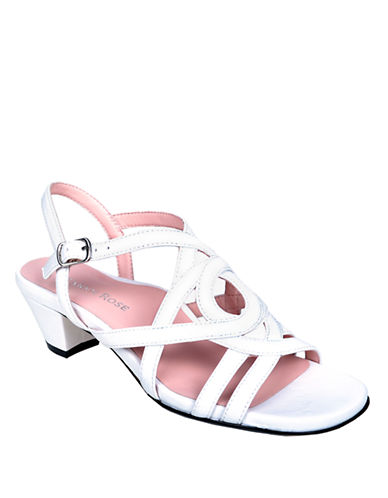 TARYN ROSEOma Patent Leather Heeled Sandals