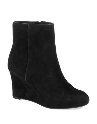 ROCKPORT Suede Wedge Boots
