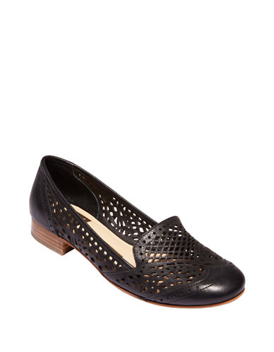 Dolce Vita Ipis Leather Cutout Loafers