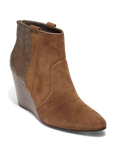 DV BY DOLCE VITA Pansy Synthetic Leather Wedge Boots