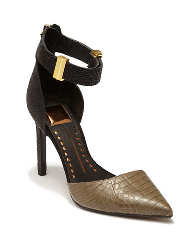 DOLCE VITAKana Leather Strappy Pumps
