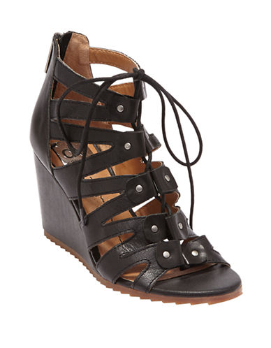DV BY DOLCE VITARhoda Leather Wedge Sandals