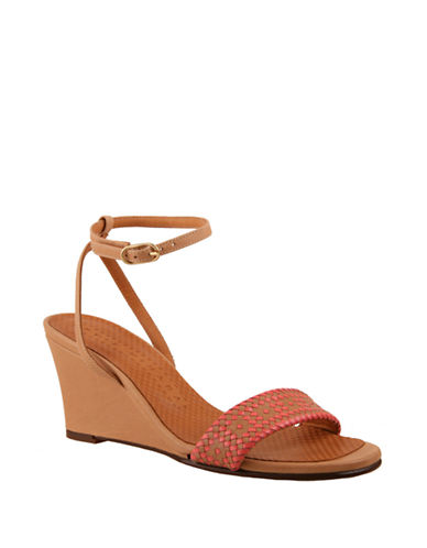 CHIE MIHARA Anko Leather Wedge Sandals