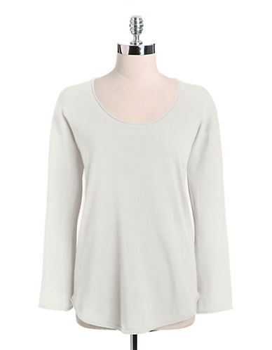 LORD & TAYLORPlus Scoopneck Cotton Shirt