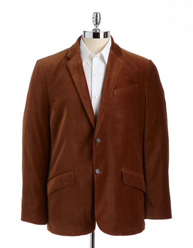 BLACK BROWN 1826Cotton Velvet Sport Coat