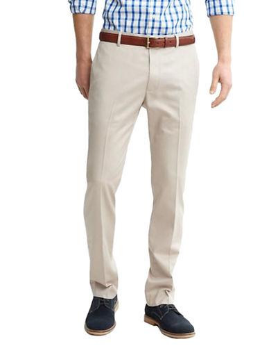 BLACK BROWN 1826Slim-Fit Cotton Pants