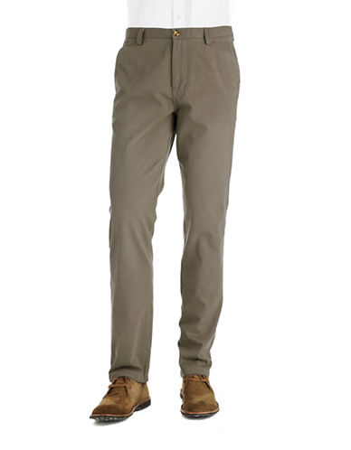 BLACK BROWN 1826Tailored Fit Chino Pants