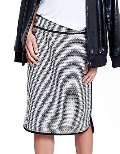 424 FIFTHPetite Tweed Pencil Skirt