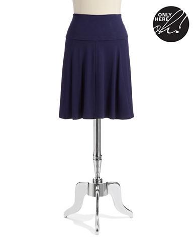LORD & TAYLORStretch Waistband Skater Skirt