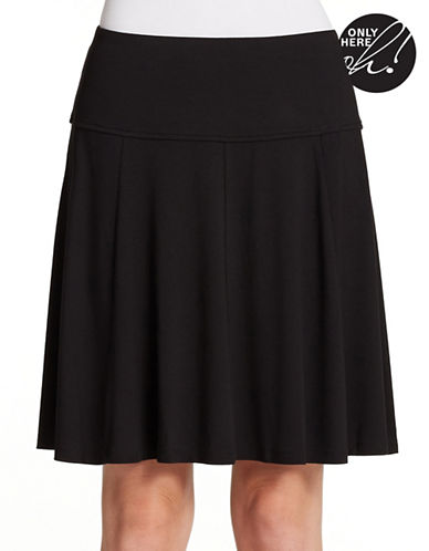 LORD & TAYLORPetite Stretch Waistband Skater Skirt