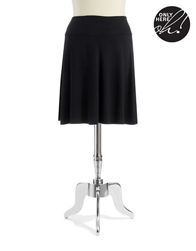 LORD & TAYLORPlus Stretch Waistband Skater Skirt