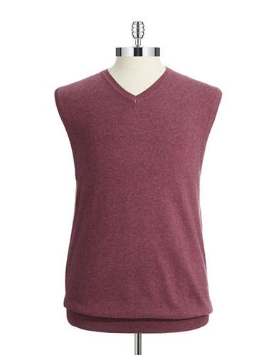 BLACK BROWN 1826Stretch-Cotton Vest