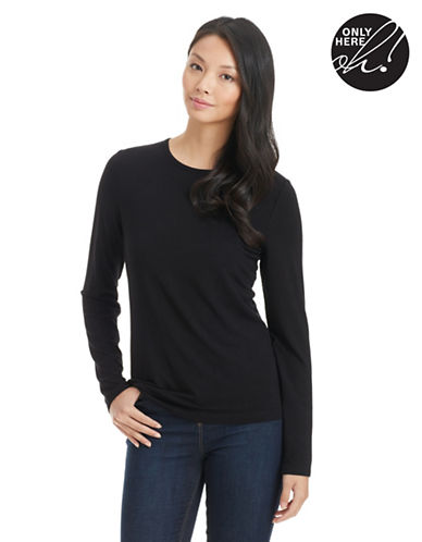 LORD & TAYLOR Petite Long Sleeved Tee
