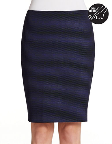 LORD & TAYLORPetite Textured Pencil Skirt
