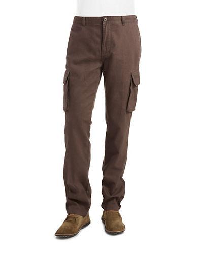 BLACK BROWN 1826Cargo Pants