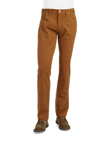 BLACK BROWN 1826 Cotton Tailored Fit Jeans