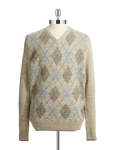 Cotton Argyle Sweater $39.99 AT vintagedancer.com
