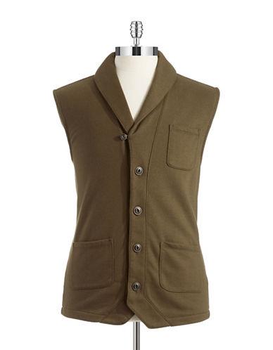 BLACK BROWN 1826Knit Vest