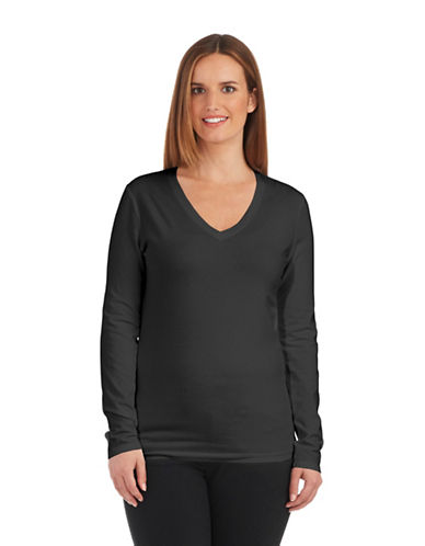 LORD & TAYLOR Plus Long Sleeved Tee