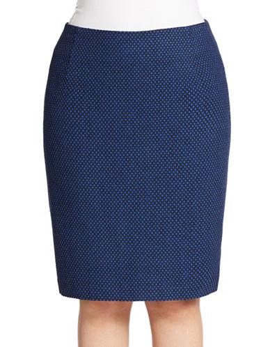 LORD & TAYLORPlus Tweed Pencil Skirt