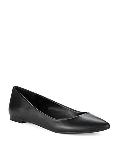 424 FIFTHAbia Pointed Toe Leather Flats