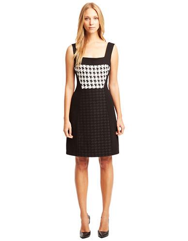KENNETH COLE NEW YORKShara Houndstooth Knit Dress