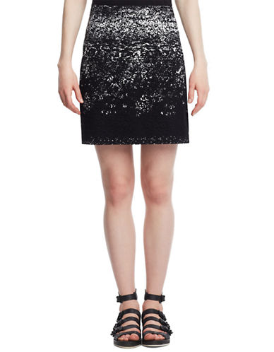 KENNETH COLE NEW YORK Juliet Patterned Skirt