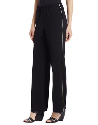 KENNETH COLE NEW YORK Maya Straight-Leg Pants