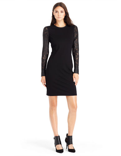 KENNETH COLE NEW YORKTrudy Lace Sleeve Dress